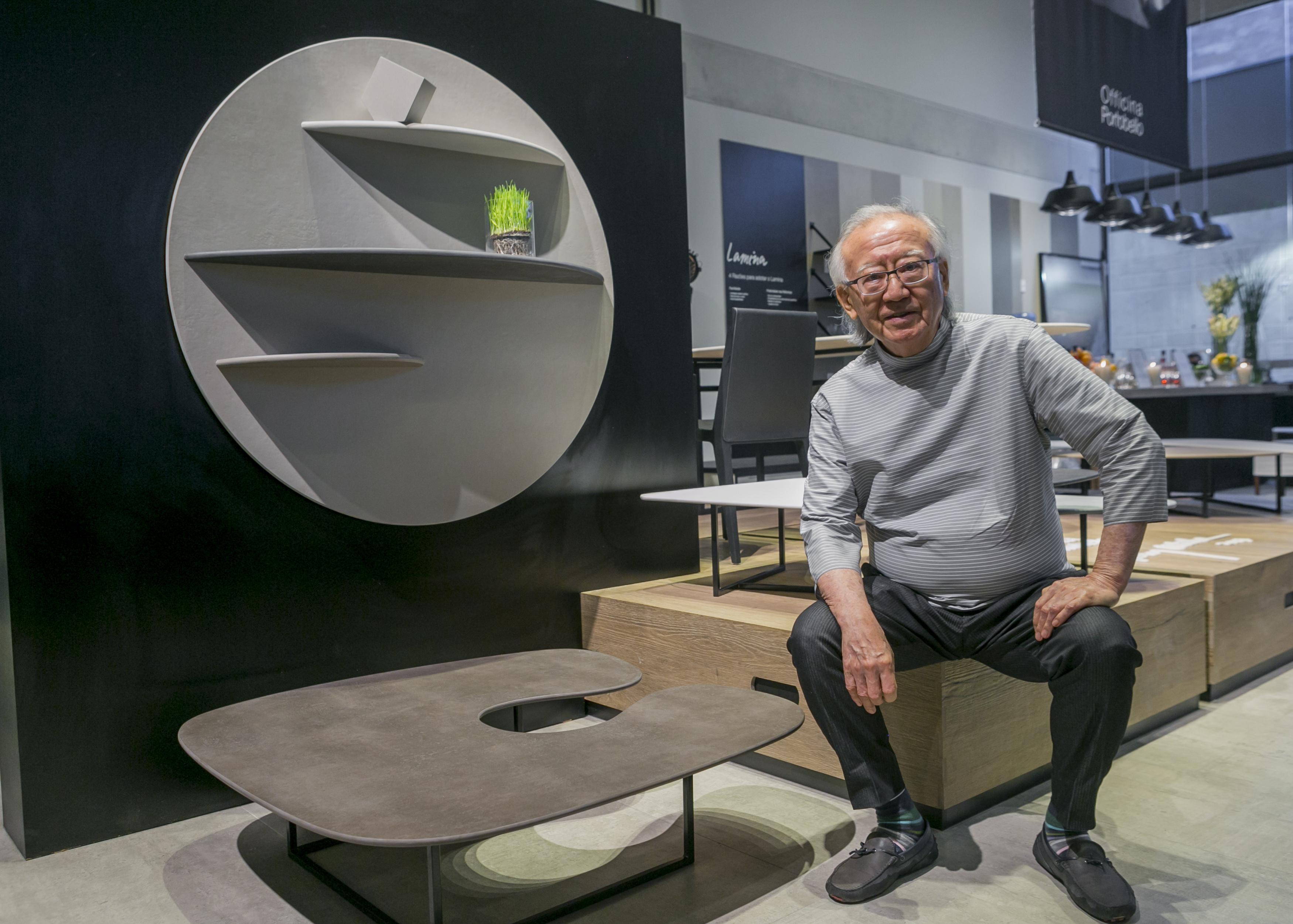 """Ruy Ohtake cria móveis em porcelanato: """"a inovação tem que romper o consenso"""""""