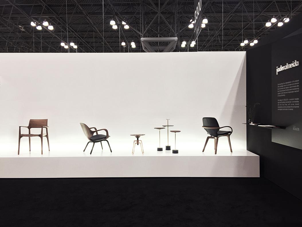 Jader Almeida expõe na ICFF, tradicional feira de design de Nova Iorque