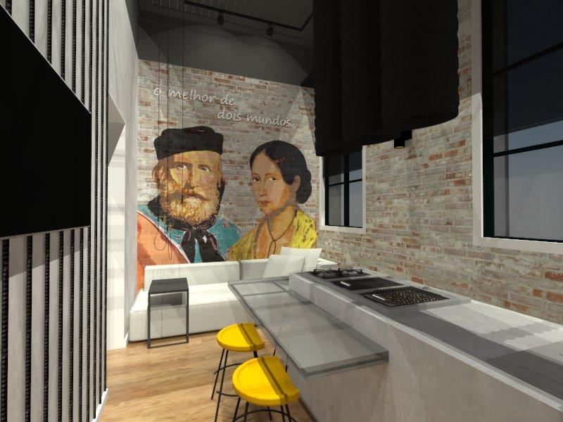 3P Studio apresenta cozinha vencedora do Archathon Floripa, projetada para a CASACOR SC