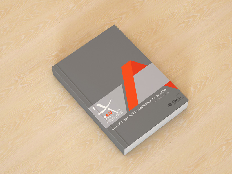 AAI Brasil/RS lança e-book gratuito do seu Guia de Orientação Profissional para Arquitetura de Interiores e prepara aplicativo