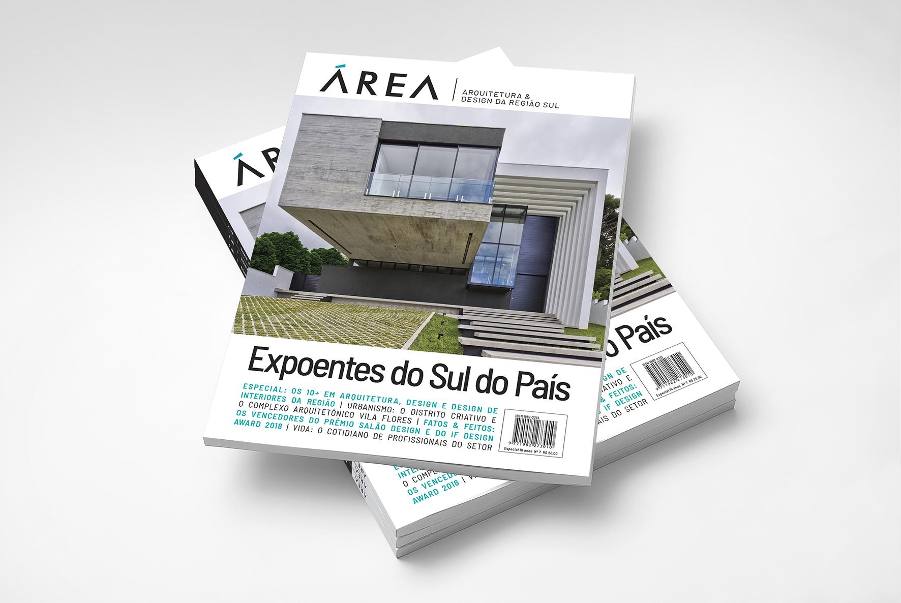 Revista ÁREA lança edição comemorativa com o especial 10 + da região Sul
