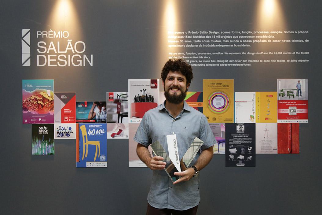 Projeto de iluminação é o superprêmio Salão Design 2018. Entrega foi feita ontem na Movelsul