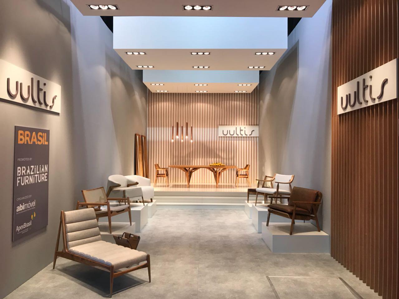 Móveis Uultis, marca premium do Grupo Herval, é apresentada no iSaloni
