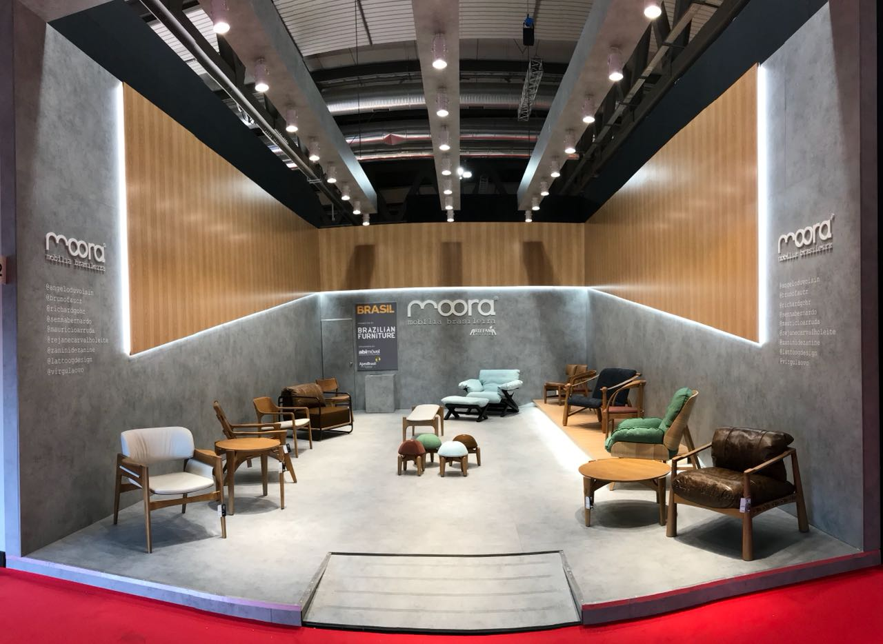 Moora Mobília Brasileira leva design do Sul para Milão