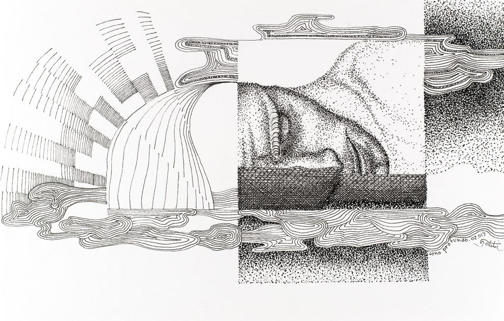 Exposição Traço-Ponto. marca a retomada da carreira artística do arquiteto Paulo Gobbi