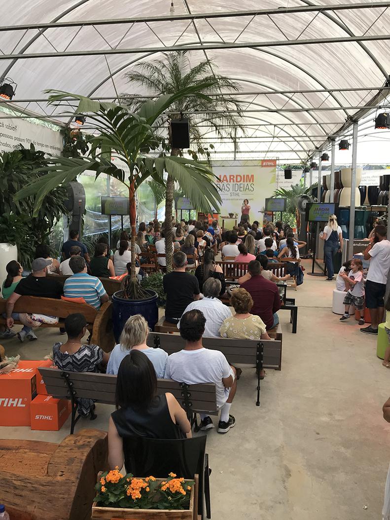 Evento 'Jardim das Ideias' oferece workshop e consultoria em jardinagem em Santa Catarina