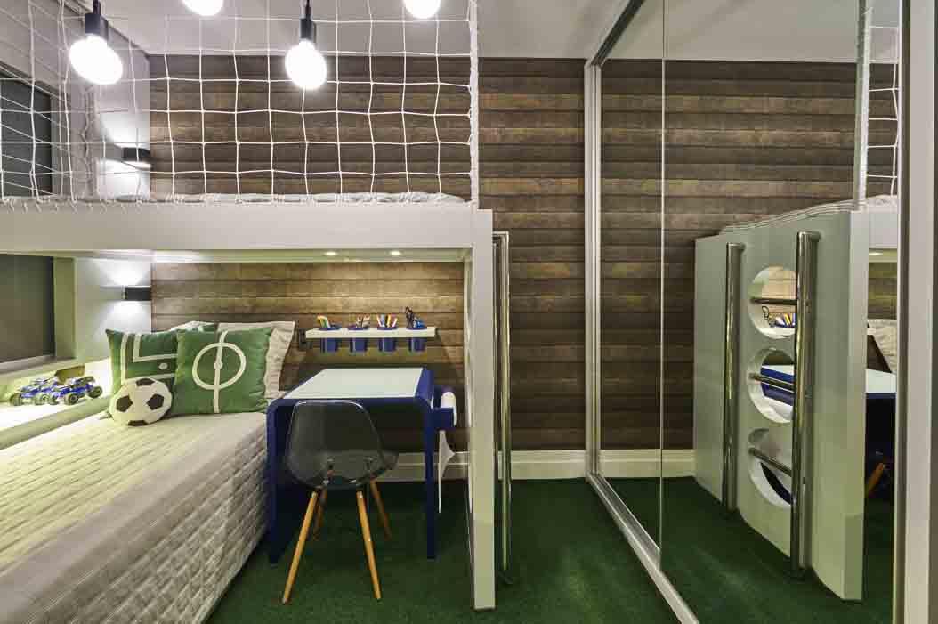 Em Novo Hamburgo, arquiteta projeta dormitório infantil temático para encantar o pequeno cliente