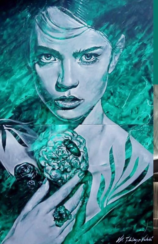 Artista urbano Thiago Valdi cria obra exclusiva para a CASACOR SC Itapema