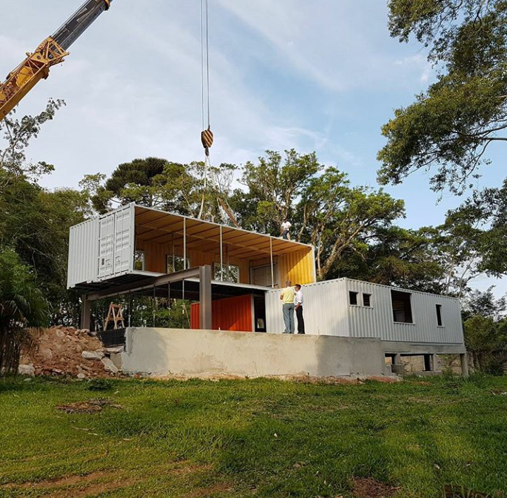 'Casa sustentável' de Curitiba abre à visitação pública como Mostra Container