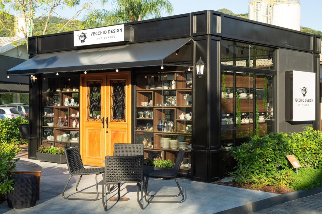 Shopping Casa & Design inaugura antiquário de inspiração europeia